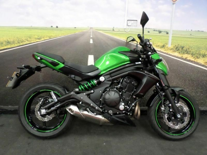 kawasaki er6n 2015 only 547 miles on the clock in birmingham west midlands gumtree. Black Bedroom Furniture Sets. Home Design Ideas