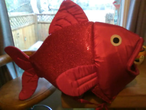 Red Sparkly Fish Costume