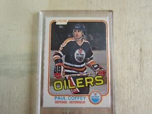PAUL COFFEY ROOKIE CARD