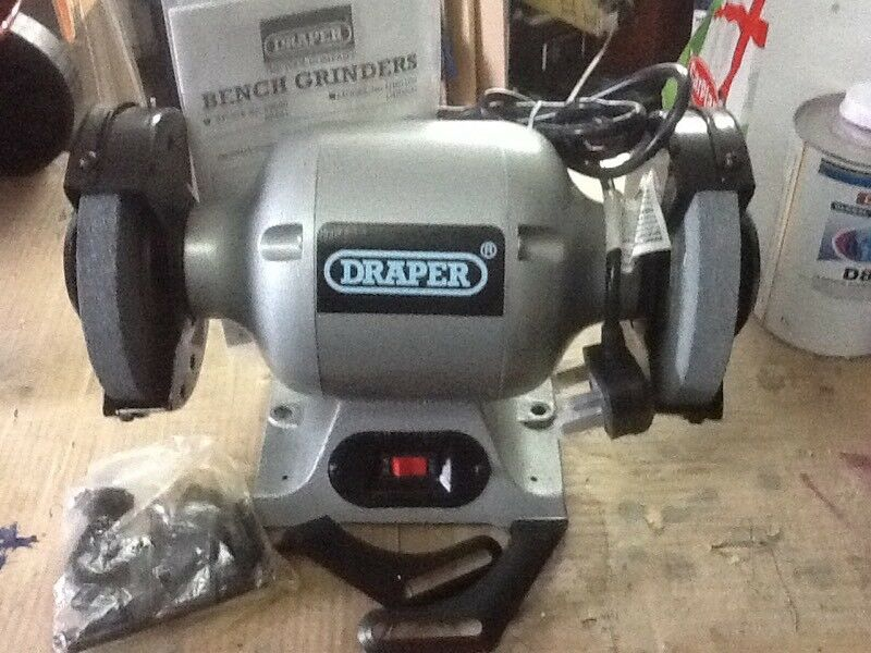 Draper 150mm heavy duty bench grinder