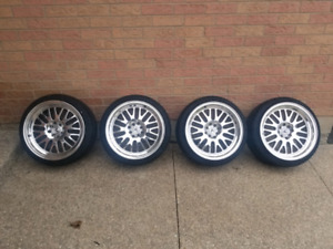 17x9 XXR 531 rims and tires