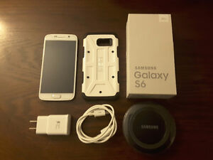Samsung Galaxy S6 WITH wireless charging pad