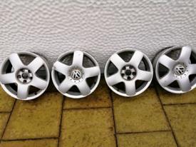 "15 "" vw polo alloy wheels"