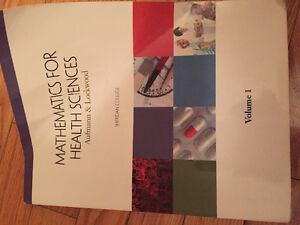 (COLLEGE) Mathematics for Health Sciences Textbook