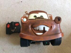 Disney Pixar's Cars - SUPER TOW MATER Remote Control truck - WOW