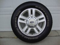 "18"" FORD F-150 WHEELS/TIRES - EXCELLENT - SACRIFICE FOR $850!!!!"