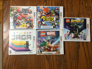 Selling 5 Nintendo 3DS games