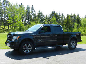 2014 Ford F-150 SuperCrew FX4 Blk Leather Heated Seats