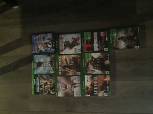 xbox one plus 1 ps4 game for sale