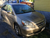 2006 Honda Odyssey EX Minivan, fully Dealer maintained