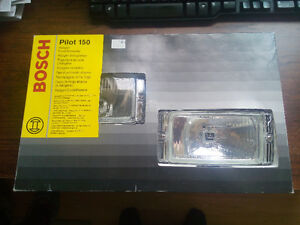 New Bosch Pilot 150 clear driving lamp kit