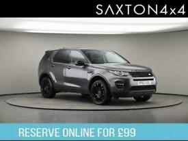 image for 2017 Land Rover Discovery Sport 2.0 TD4 HSE Black Auto 4WD (s/s) 5dr SUV Diesel