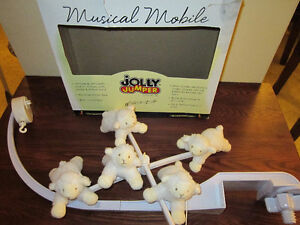 Mobile musical Jolly Jumper Moutons à St-Hubert