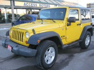 2008 Jeep Wrangler, Immaculate Condition, Auto, Loaded, 2 Tops