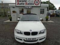 09 BMW 1 SERIES 2.0 118D M SPORT DIESEL - 71770 MILES