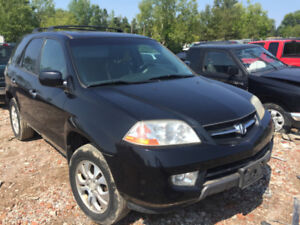2003 ACURA MDX 3.5 L  AWD  PARTING OUT