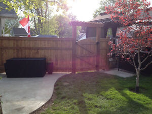 Fence and deck installation Windsor Region Ontario image 5