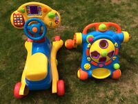 VTech Grow and Go Ride-on & VTech Baby Walker & Shape Sorter