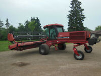 Case 8825 HP 25' Swather
