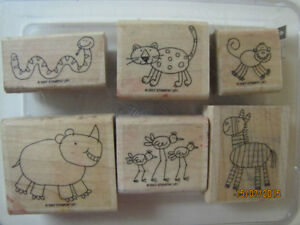 "Stampin' Up ""Zoofari"" Stamp set"