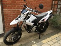 Yamaha WR 125 X 2014 excellent condition for sale £2900
