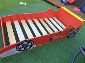 Boys car racer bed £30
