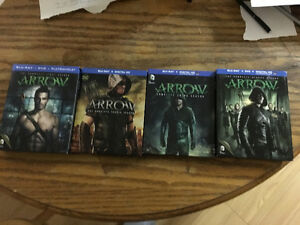 SEASON 1 to 4 ARROW blueray