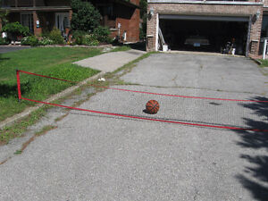 Brand new retractable driveway safety net /barrier with VIDEO Windsor Region Ontario image 7