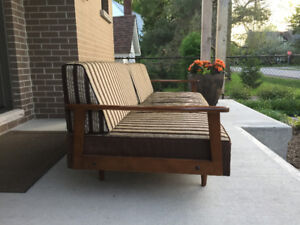 Mid-Century Sofa/Couch by National Woodcraft Ltd