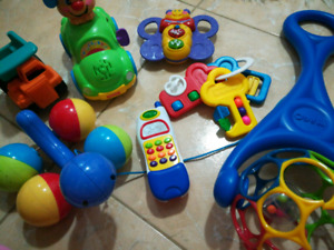 Educational toys. Vtech, fisher price, little tykes toy LOT