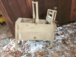 Antique T. Eaton Washing Machine