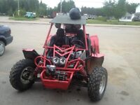 Dune buggy 650 cc cote a cote side by side 4 roues