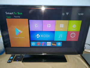 40in Samsung with Android Box