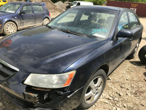 2008 Hyundai Sonata ** FOR PARTS ** INSIDE & OUTSIDE***