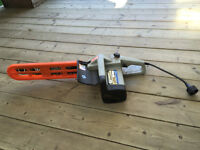 "16"" bar Mastercraft electric chainsaw,great shape"