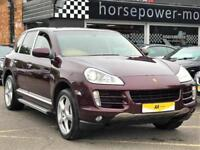 2007 Porsche Cayenne 4.8 S Tiptronic S AWD 5dr Petrol red Automatic