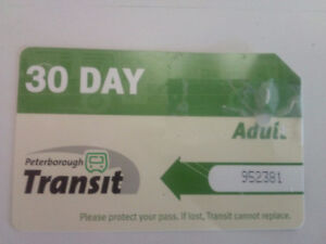 Peterborough City Adult Bus Pass