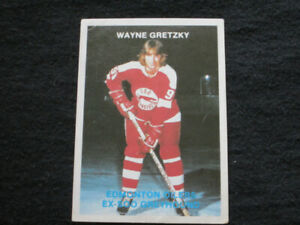 Extremely Rare Wayne Gretzky Soo Greyhound Card