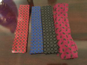 Vintage Ladies Silk Bow Tie Scarves $10 each