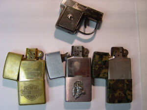 ZIPPO WORKING LIGHTERS(OLD) +