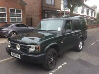 Land Rover td5 commercial 2003 2 seats