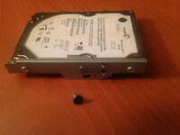 Caddy (tiroir), vis et disque dur de PS3 60Gb