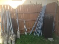 Chain link fence- used. $175 OBO