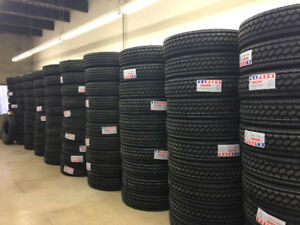 BRAND NEW DRIVE / TRAILER TRUCK TIRES