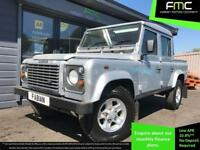 2006 Land Rover 110 Defender 2.5 Double Cab Silver **Only 31,000 Miles - FSH**
