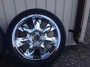 4 Cabo 18 inch honda wheels