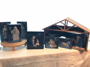 Nativity Figurines from 1980's - Avon Collectibles