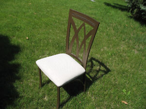 heavy duty metal kitchen chairs