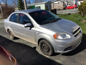 2007 Chevy aveo 5 speed new inspection