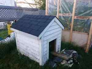 Solid dog house